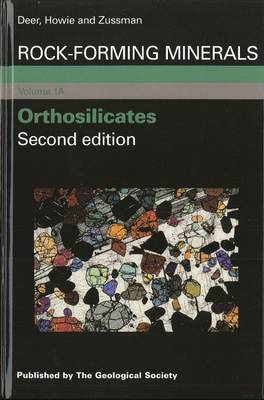 Rock Forming Minerals: Orthosilicates v. 1A (Hardback)