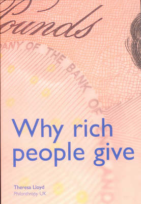 Why Rich People Give (Paperback)