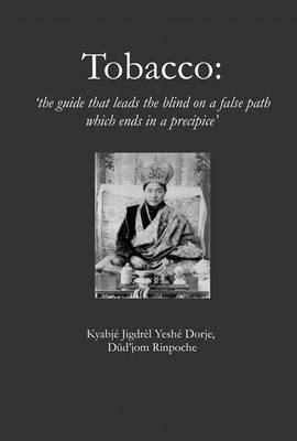 Tobacco: The Guide That Leads the Blind on a False Path Which Ends in a Precipice (Paperback)