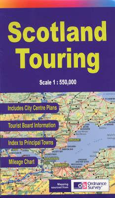 Scotland Touring Map (Paperback)