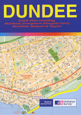 Dundee Street Atlas (Paperback)