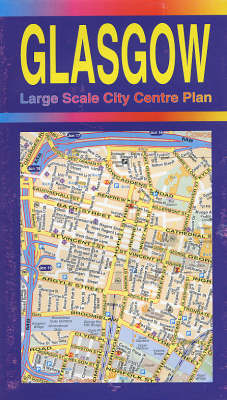 Glasgow Large Scale City Centre Plan (Sheet map, folded)