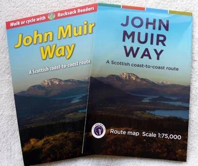 John Muir Way Bundle: guidebook plus map (Spiral bound)