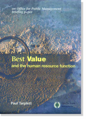 Bets Value and the Human Resources Function: Using Challenge to Develop an Effective Human Resources Function (Paperback)