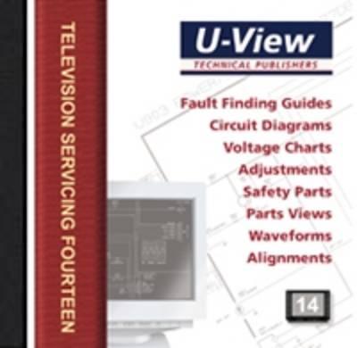 U-View Television Servicing 14 - Television Servicing v. 14 (CD-ROM)