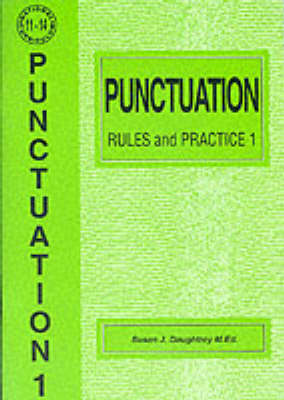 Punctuation Rules and Practice: No. 1 - English S. (Paperback)