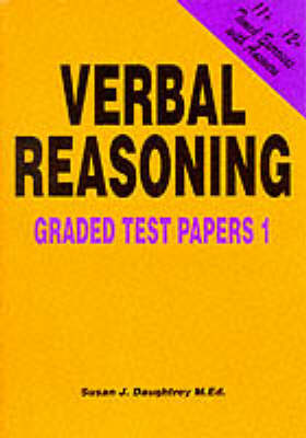 Verbal Reasoning: Graded Test Papers No. 1 (Paperback)