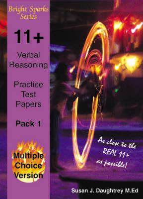 11+ Verbal Reasoning Test Papers: Multiple Choice Version (Paperback)