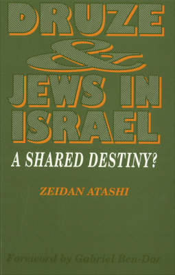 Druze and Jews in Israel: A Shared Destiny? (Paperback)