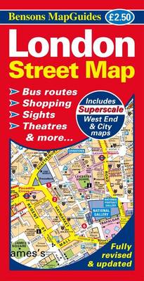 London Street Map (Sheet map, folded)