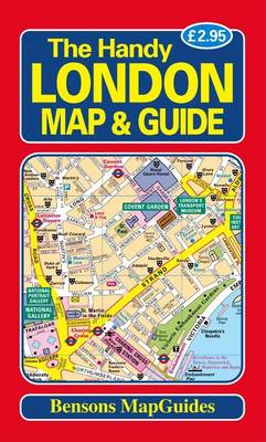 The Handy London Map and Guide (Paperback)