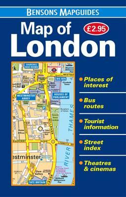 Map of London (Sheet map, folded)
