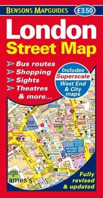 London Street Map (Sheet map, folded)