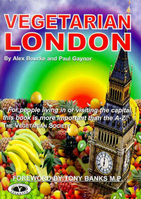 Vegetarian London - Vegetarian travel guides (Paperback)