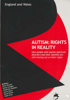 Autism: Rights in Reality (Paperback)