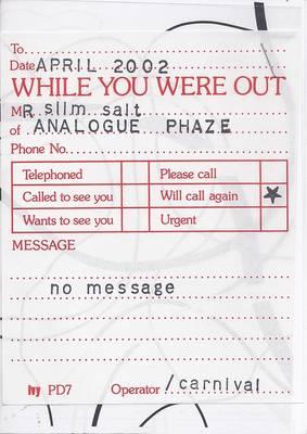Analogue Phaze: April 2002 - Analogue Phaze