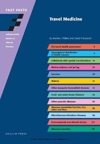 Fast Facts: Travel Medicine (Paperback)