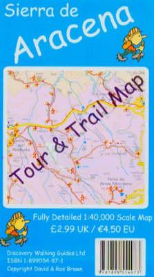 Sierra de Aracena Tour and Trail Map - Tour & Trail Maps (Sheet map, folded)
