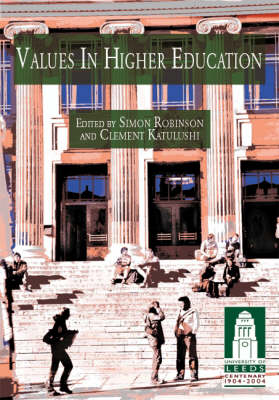 Values in Higher Education (Paperback)