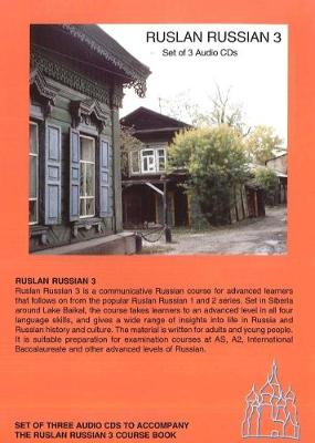 Ruslan Russian 3. With free audio download: A Communicative Russian Course (CD-Audio)