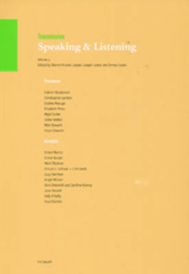 Transmission: v. 4: Speaking and Listening (Paperback)