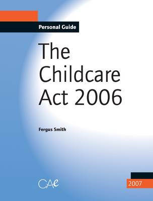 Childcare Act, 2006 (Paperback)