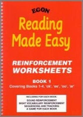 Reading Made Easy: Book 1: Reinforcement Worksheets (Spiral bound)