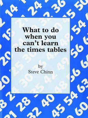What to Do When You Can't Learn the Times Table (Paperback)