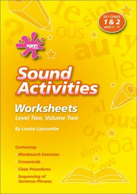 Sounds Activities: Level 2 v. 2: Worksheets - Sounds Activities (Spiral bound)