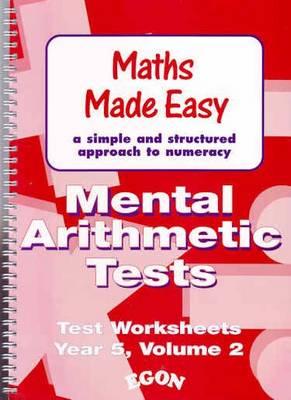 Mental Arithmetic Tests: Year 5 Bk. 2 (Paperback)