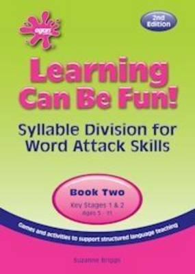 Learning Can be Fun: Bk. 2: Syllable Division for Word Attack Skills - Learning Can be Fun! (Copymasters)