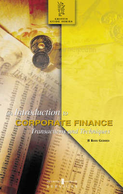 An Introduction to Corporate Finance: Translations and Techniques - Griffin Guides (Paperback)