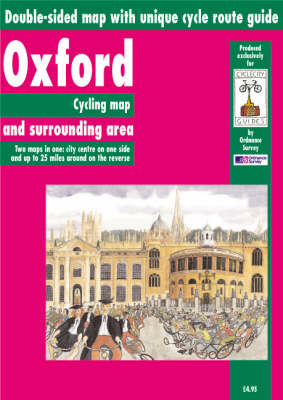 Oxford and Surrounding Area: Cycling Map - Cycle City Guides (Sheet map, folded)