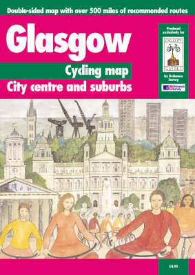 Glasgow Cycling Map: City Centre and Suburbs - Cycle City Guides (Sheet map, folded)