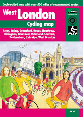 West London Cycling Map - Cycle City Guides (Sheet map, folded)