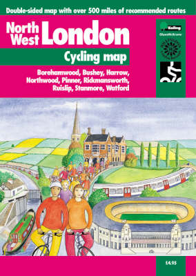 North West London Cycling Map - Cycle City Guides (Sheet map, folded)