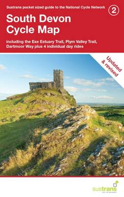 South Devon Cycle Map: Including the Exe Estuary Trail, Plym Valley Trail, Plus 4 Individual Day Rides - CycleCity Guides (Sheet map, folded)