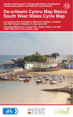 South West Wales Cycle Map (Sheet map)