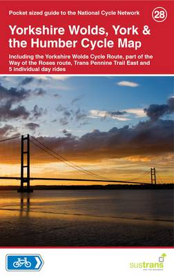 Yorkshire Wolds, York & The Humber Cycle Map 28 (Sheet map, folded)