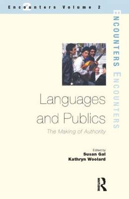 Languages and Publics: The Making of Authority (Paperback)