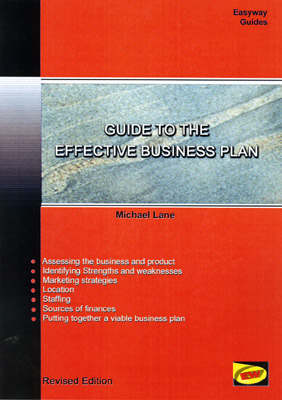 Guide to the Effective Business Plan - Easyway Guides S. (Paperback)