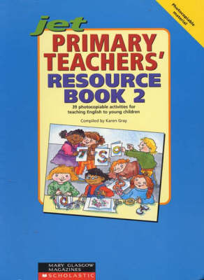 JET Primary Teacher Resource Book 2 - Junior English Timesavers S. No. 2 (Spiral bound)