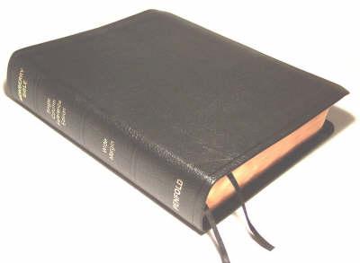 Newberry Study Bible (Leather / fine binding)
