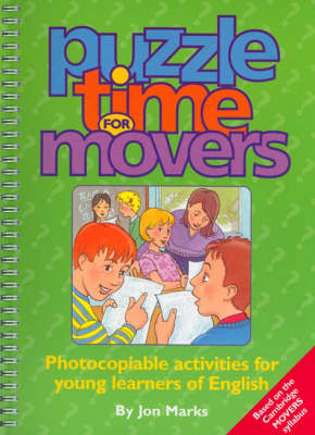 Puzzle Time for Movers - Photocopiable Activities for Young Learners of English (Copymasters)