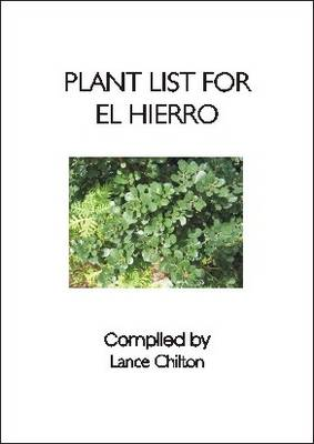 Plant List for El Hierro: (Canary Islands) (Paperback)
