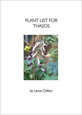 Plant List for Thasos (Paperback)