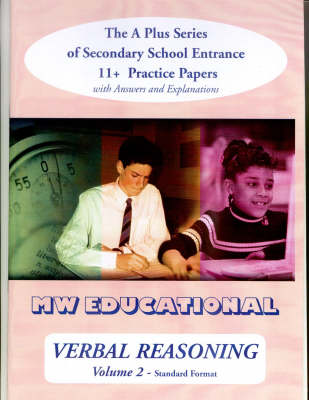 Verbal Reasoning: With Answers v. 2: The A Plus Series of Secondary School Entrance 11+ Practice Papers - 'A' Plus S. (Paperback)