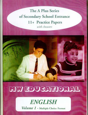 English (Standard Format): with Answers v. 1: The A Plus Series of Secondary School Entrance 11+ Practice Papers - 'A' Plus S. (Paperback)