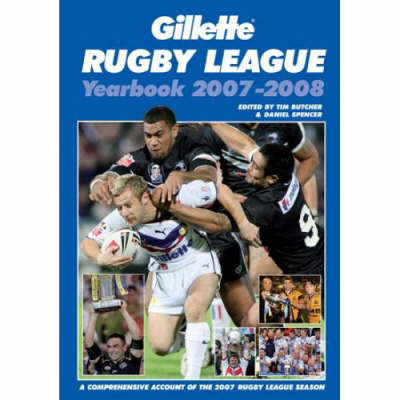 Gillette Rugby League Yearbook 2007 - 2008 (Paperback)