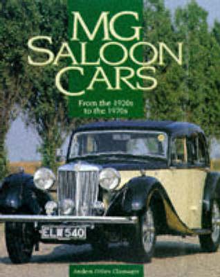 MG Saloon Cars 1920s-70s (Hardback)